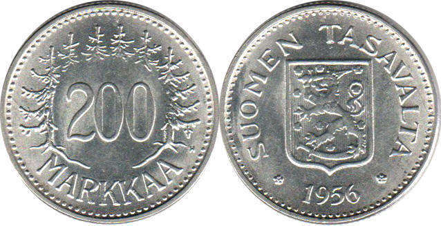 Finland 1997 Bi-metallic 10 mk Markkaa Coin Bird 10 Mark Capercaillie