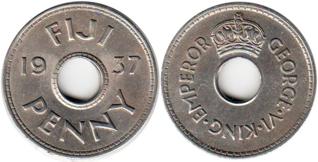 Fiji - online free coins catalog with photos and values