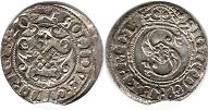 coin Riga solidus 1620