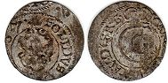 coin Riga solidus 1657