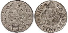 coin Zug shilling 16 century