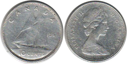 Canada - online free coins catalog with photos and values