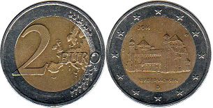 coin Germany 2 euro 2014