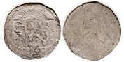 coin Oettingen 1 pfennig 1526