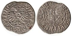 coin Worms 2 kreuzer 1588