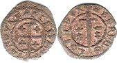 coin Lorraine obole without date (1608-1624)