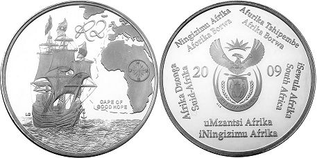 coin South Africa 2 rand 2009