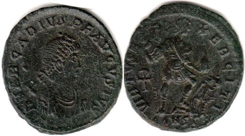 coin Roman Empire Arcadius