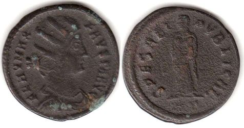 coin Roman Empire Fausta
