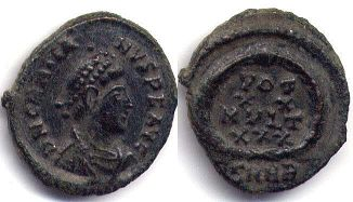 coin Roman Empire Gratian