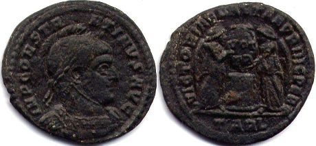 coin Roman Empire Constantine I the Great