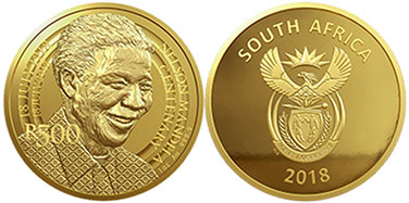 coin South Africa 500 rand 2018