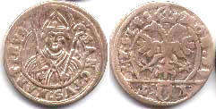 coin Schwyz 1 shilling without date (XVII century)