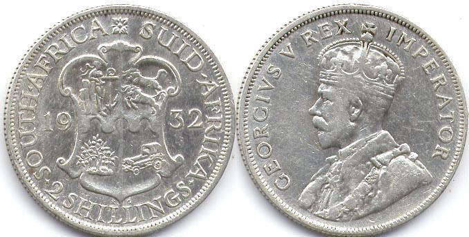 South Africa - online free coins catalog with photos and values