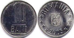 coin Romania 10 bani 2005