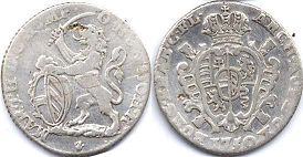 coin Austrian Netherlands escalin 1750