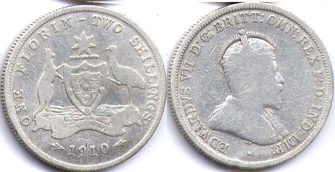 Australia old - online free coins catalog with photos and