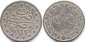 coin Egypt 1 qirsh 1903