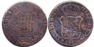 coin Catalonia 6 cuarta 1812