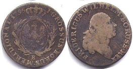 coin South Prussia 1 groschen 1796
