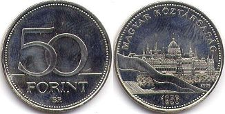 coin Hungary 50 forint 2006