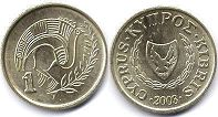 coin Cyprus 1 cent 2003