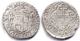 coin Savoy Grosso 1559-67