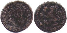 coin Spanish Netherlands korte 1548
