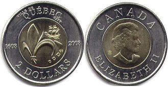 coin canadian commemorative coin 2 dollars 2008