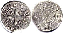 coin Clermont denier ND (13 century)