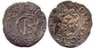 coin Riga solidus 1662