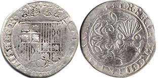 coin Castile and Leon real 1479-1506
