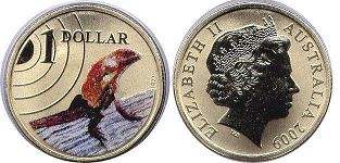 australian commemmorative coin 1 dollar 2009