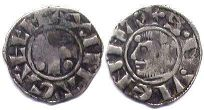 coin Vienne denier ND (12 century)