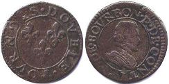 coin Chateau-Regnault double denier