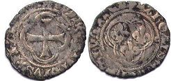 coin France double denier 1447