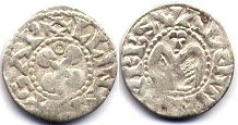 coin Valence denier ND (1157-1276)