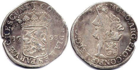 coin Holland Ducat (48 stuver) 1693