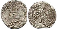 coin Castile and Leon 1/2 maravedi 1252-1284