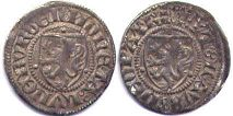 coin Lüneburg dreiling without date (1392)
