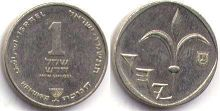 coin Israel 1 new sheqel 1986