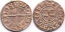 coin Livonia schilling ND (1540)