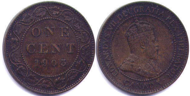 How Much Is A 1940 1 Cent Canadian Coin Worth