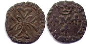 coin Orange liard 1625-1647