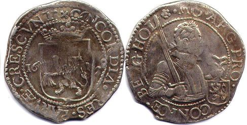 coin Holland Daalder (48 stuver) 1628