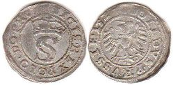 coin Polish Prussia 1 solidus 1528