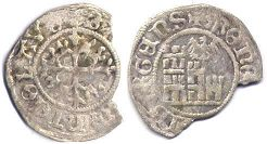 coin Fribourg 1 schilling ND (1501-1515)