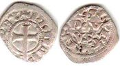 coin France obole bourgeoise 1311