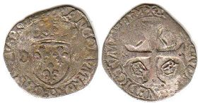 coin France douzain 1594