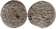coin Lithuania 1 schilling 1652